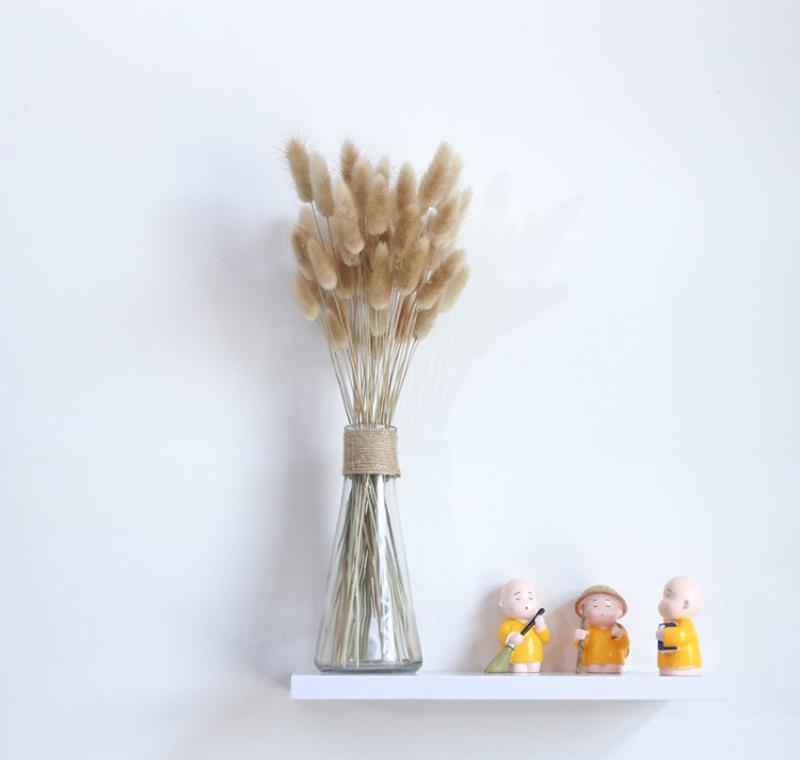 20 tiges de fleur séchée lapin queue naturelle plantes naturelles de lapin floral bouquet home décoration accessoires sqcdawu ppshop01