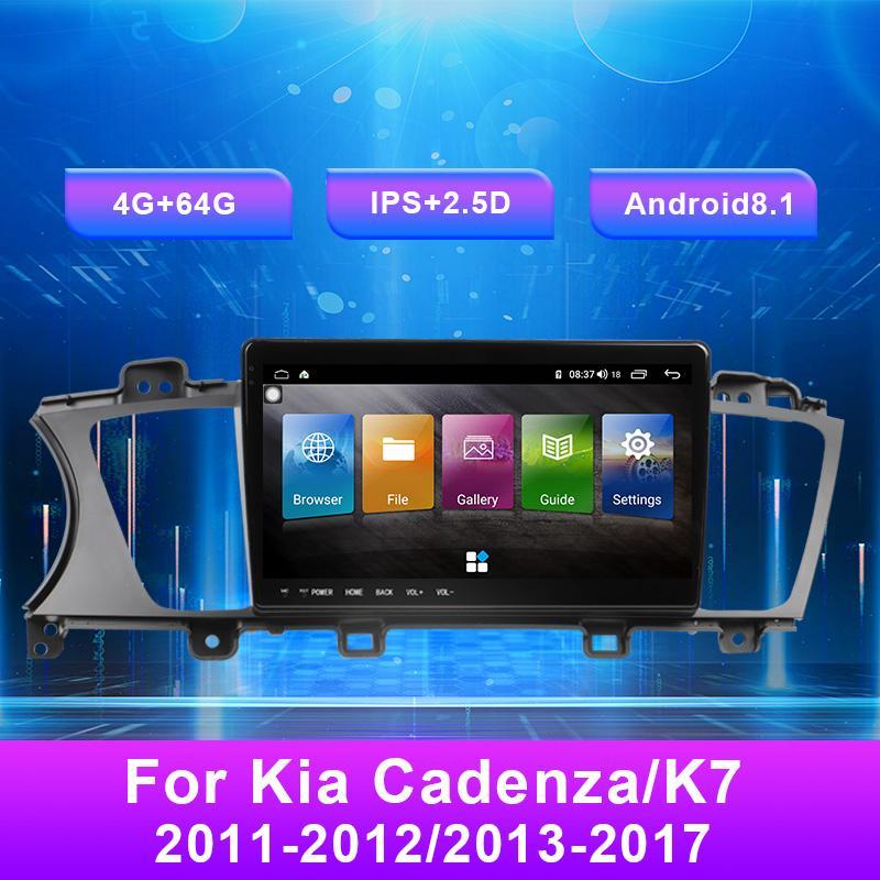 Android 8.66 pollici Android 8.1 USB Autoradio AM FM DVD MultiMedia Player Video Video Navigazione GPS per Kia Cadenza