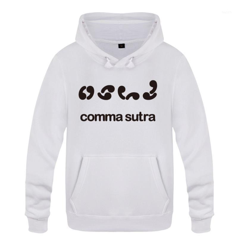 Comma Sutra lustige sarkastische Sweatshirts Männer 2018 Herren Kapuze Fleece Pullover Hoodies1