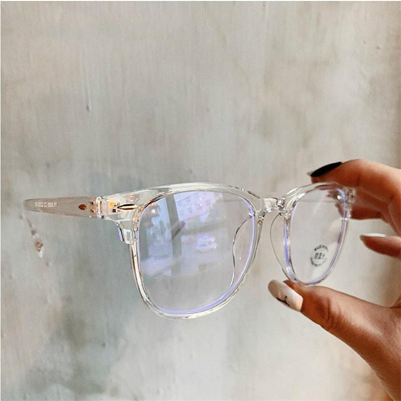 2020 Anti Blue Light Glasses Frame Women's Eyeglass Frame Computer Eyeglasses Vintage Men Spectacles Transparent Frames