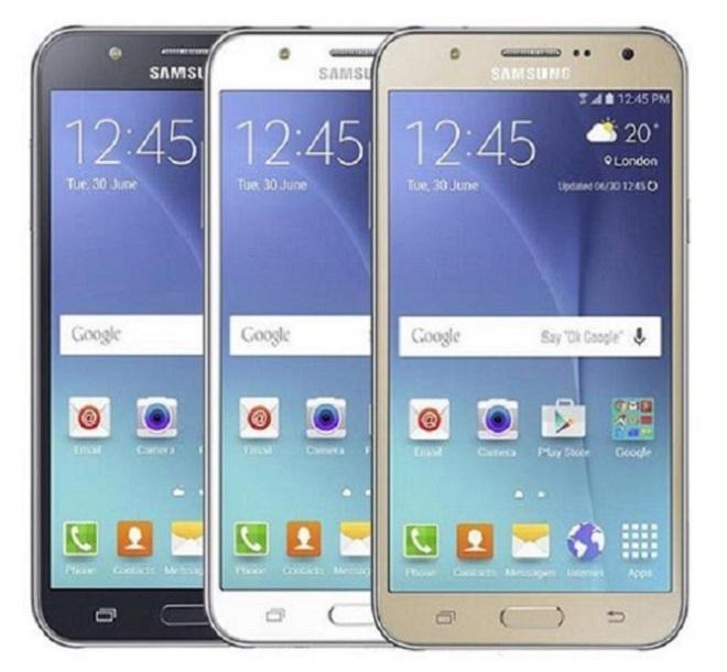 Orijinal Yenilenmiş Samsung Galaxy J7 J700F 1.5 GB RAM 16 GB ROM Android 5.1 1280 * 720 13MP GPS 4G Çift Sim Unlocked Telefonlar