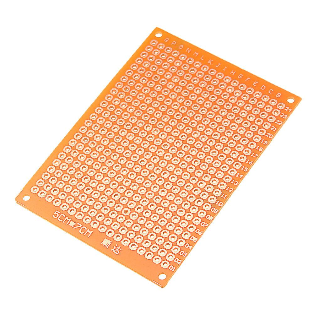 3 قطع diy 5x7 ورقة نموذج PCB عالمي تجربة مصفوفة لوحة الدوائر
