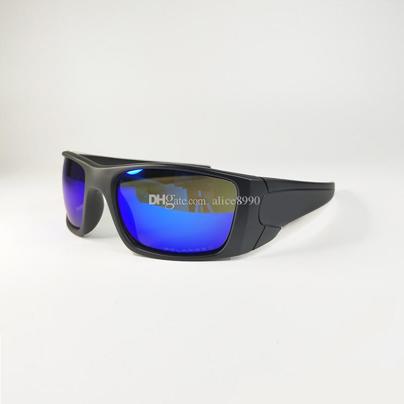 TR Materiale Eyewear Bicycle Bicycle Glasses Cycling Sunglasses Goggle Uomo / Polarizzazione Donne Polarizzazione UV400 Lente 9096 Made in USA