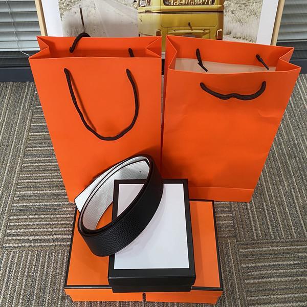 2021 Fashion Big Fibbia Genuine Letter Belt con box Designer Uomo Donna di alta qualità cinture da uomo AAA208