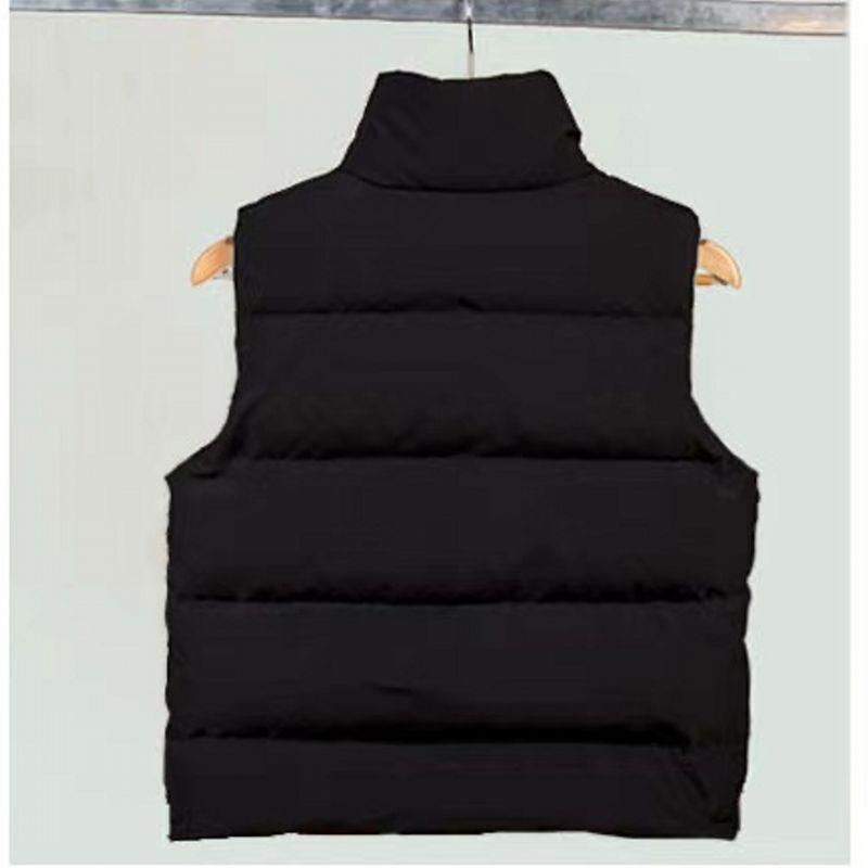 Moda Yelekler Aşağı Ceket Yelek Sıcak Tutmak Erkek Stilist Kış Ceket Erkekler Ve Kadınlar Kalınlaşmak Açık Ceket Temel Soğuk Koruma Boyutu S-2XL
