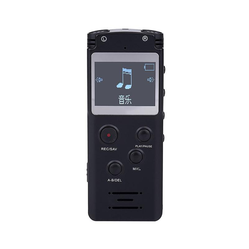 Digital Voice Recorder Sound Audio-Flash-Laufwerk bis 8 GB / 16 GB DICTAPHONE LCD MP3-Player