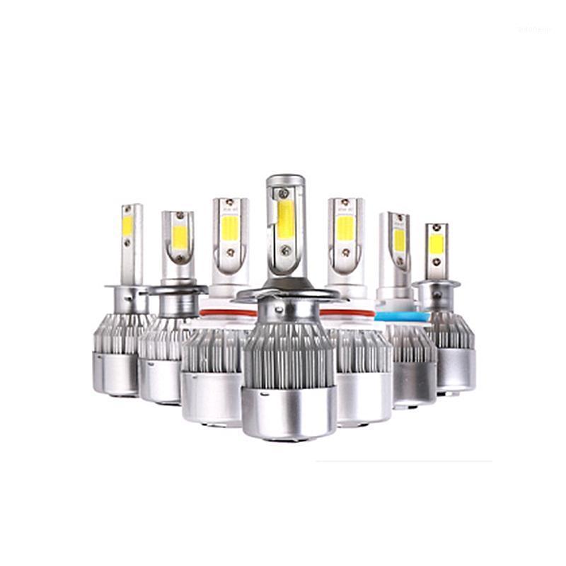 2x h7 led h11 h4 luz h1 h3 h8 1 3 4 5 36W carro farol lâmpadas ceia brilhante c6 levou luz para reparação de carros1