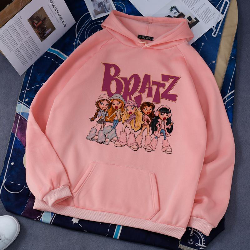 Bratz Rock Angelz Hoodi Femmes 90s Vêtements Pour Femme 2020 HIP HIP HOP HOP HOP HOP HARAJUKU Sweatshirt Femmes Hoodi Top