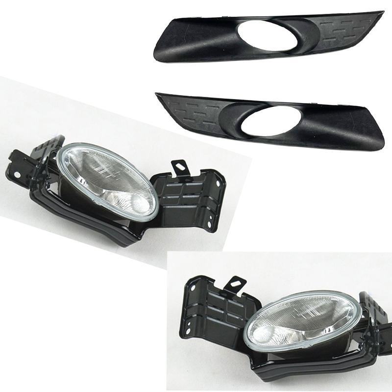 لهوندا كروسستورت 2012-2013 سيارة الجبهة اليسرى الجانب الأيمن الضباب القيادة ضوء مصباح غطاء دون المصابيح