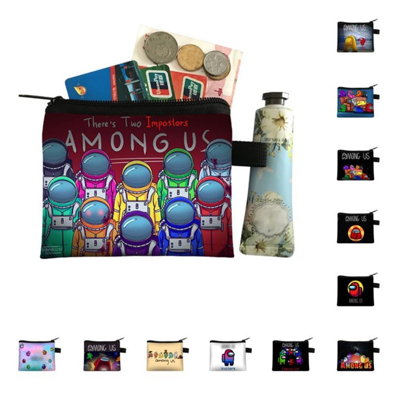 2021 Juego Wallet monederos monederos titular de la tarjeta con cremallera carteras mujeres bolsa niños lindo historieta anime bolso bolsas de almacenamiento bolsas DHL E121410