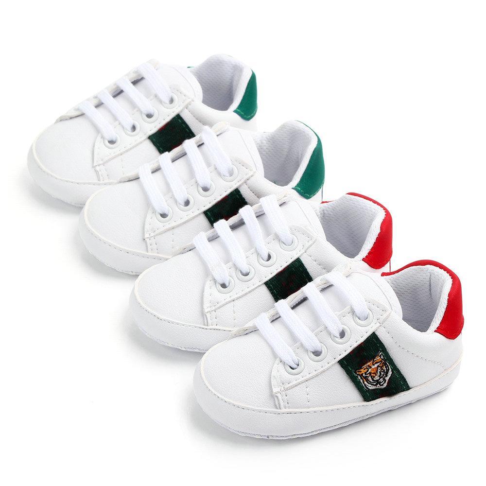 Babyschuhe für Mädchen Weiche Schuhfrühling Baby Mädchen Turnschuhe Weiß Infant Neugeborenen Schuhe Erster Wanderer