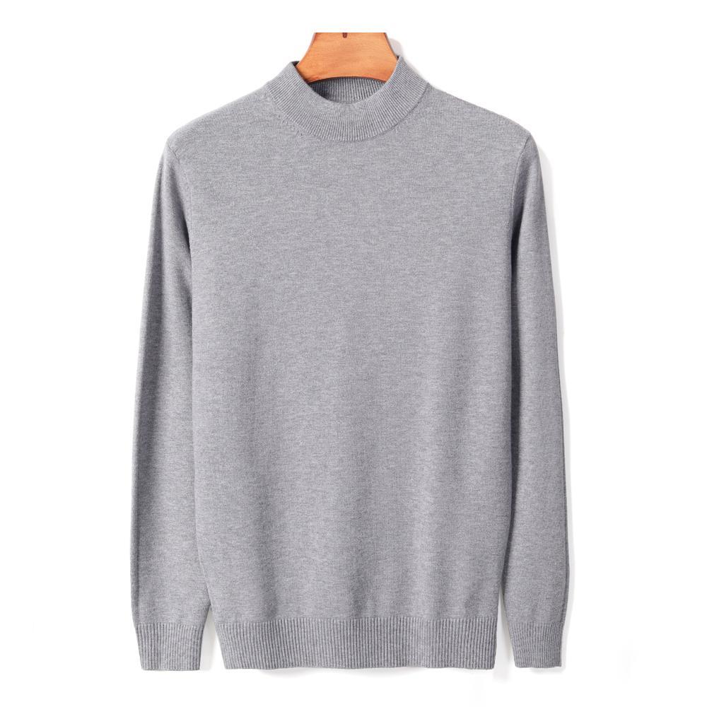 12 цветов мужская толстая водолазка свитер осенью и зима новая мода повседневная лампа теплый пуловер мужской бренд одежда 201203