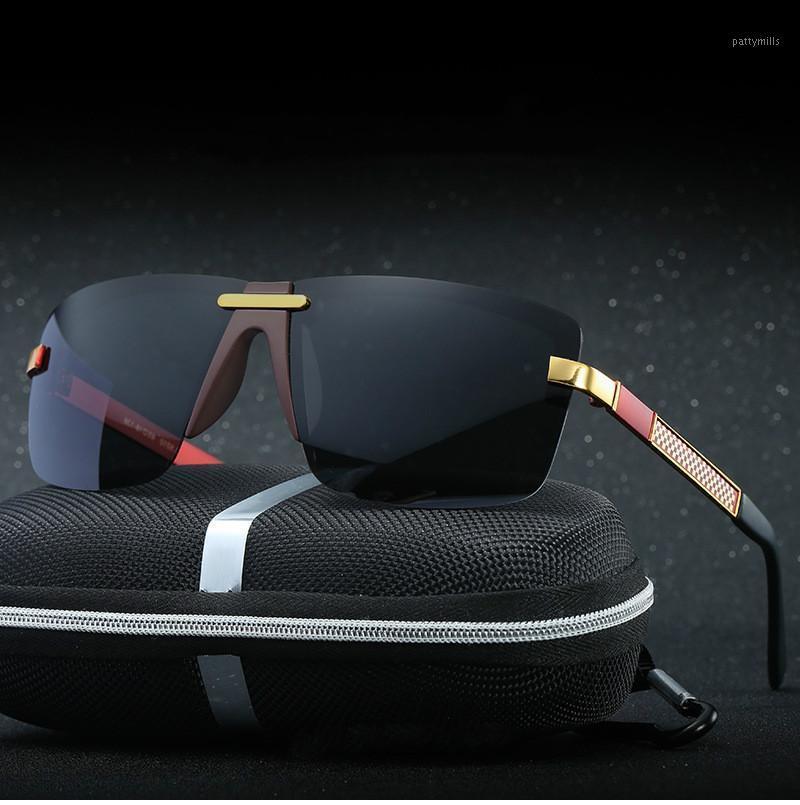 2020 Aluminio Magnesio Menores Mujer Gafas de sol Polarizadas Moda Hombres Espejo Revestimiento Driving Sun Glass Oculos Male UV400 Eyewear1