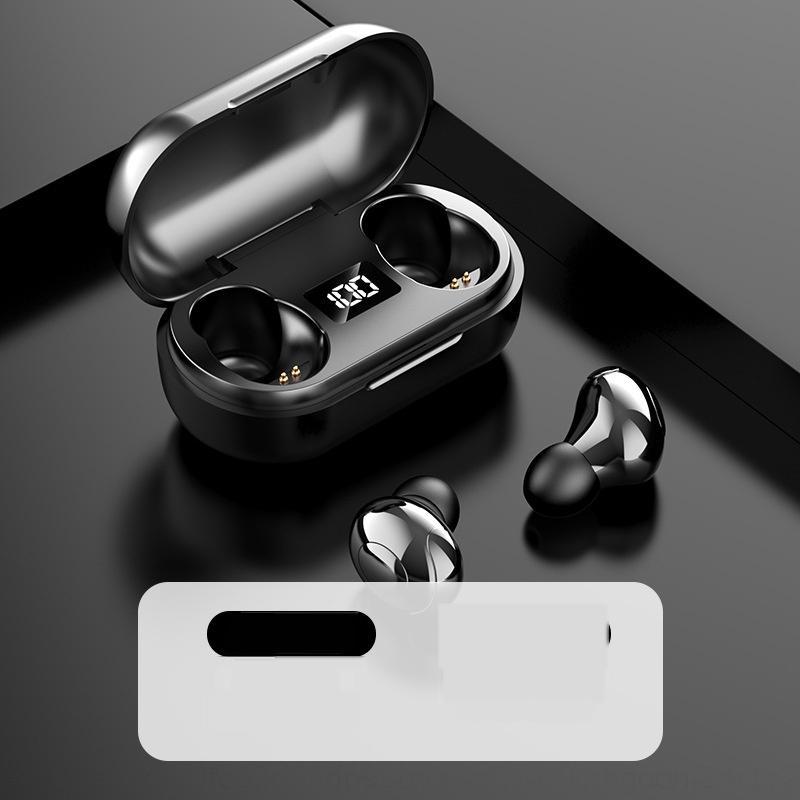 7HAP Écouteurs sans fil Bluetooth Sans sans fil Écouteurs d'énergie sans fil pour téléphones Érachées magnétiques dans l'oreille Sport Écouteurs Forx Samsung S9 Pl