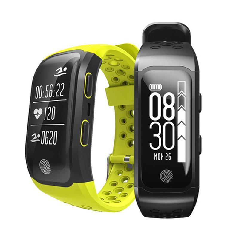 S908 Höhe Meter GPS Smart Armband Herzfrequenzmonitor Fitness Tracker Smart Watch IP68 Wasserdichte Armbanduhr für iOS iPhone Android
