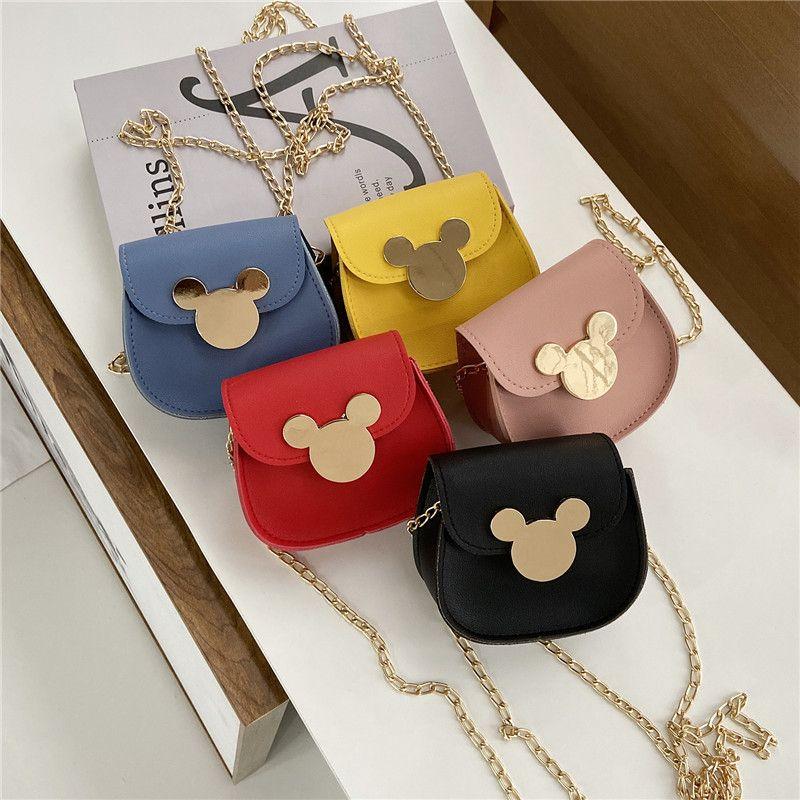 귀여운 PU 일반 색상 어린 소녀 미니 지갑 배낭 공주 코인 가방 안장 모양의 어깨 메신저 가방 어린이 선물