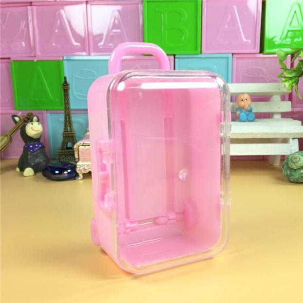 هدية التفاف 20 قطع البسيطة جذع حقيبة الأمتعة الاطفال لعبة دمى الملحقات الحلوى مربع الكرتون kis الإحسان ديكور 1