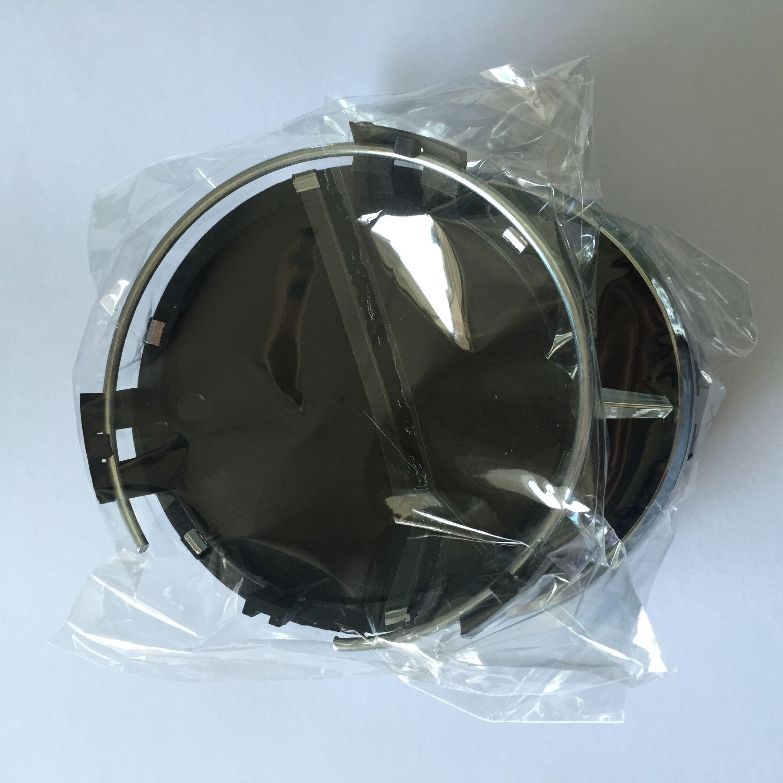 4 PZ 75mm Car Wheel Rim Center Cap Nero Argento Ruota Cover Forben-Z
