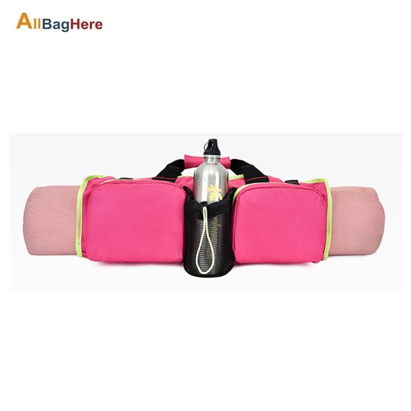 Bolsa de yoga de mujer de gran capacidad de alta calidad de la bolsa de yoga bolsa de hombro portátil bolsa de hombro multifunción para las señoras de las señoras para gimnasio Fitness Z1121