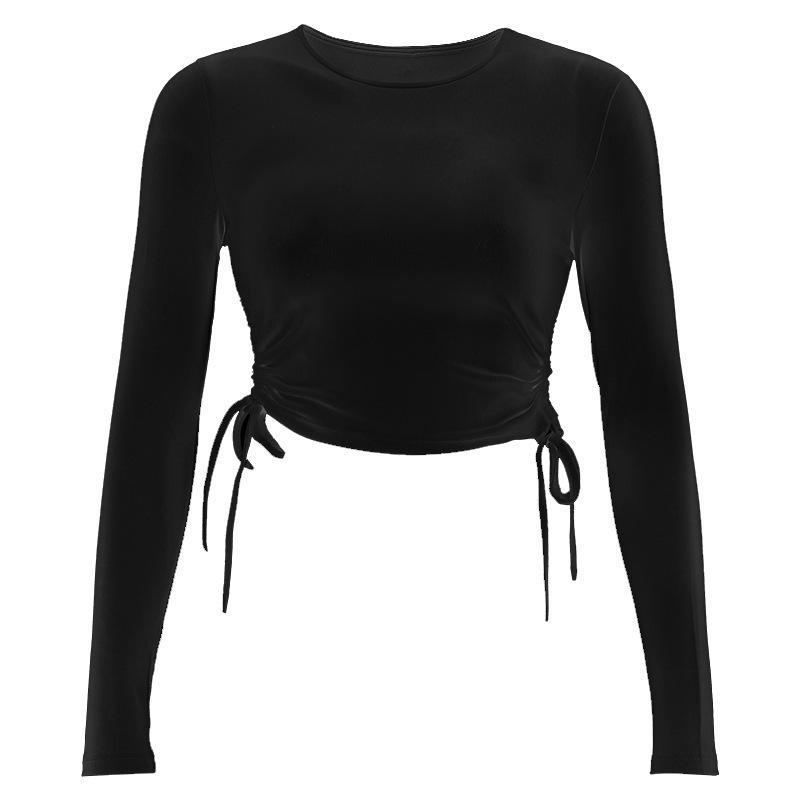 Sexy 2021 novo outono superior mulher mulher vintage roupas 6p19 27yly