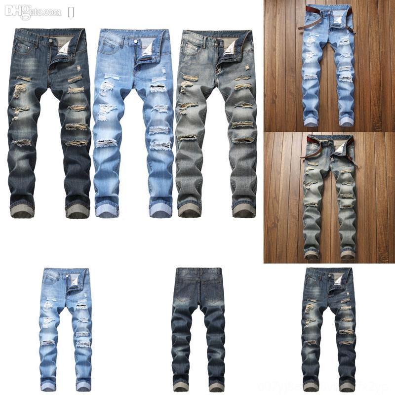 0Memz Heflashor Fashion Foro da uomo strappato per tuti tuti pantaloncini estate Streetwear Nuovo Denim Bib Jeans Jeans Distressed Tuta Jeans uomo