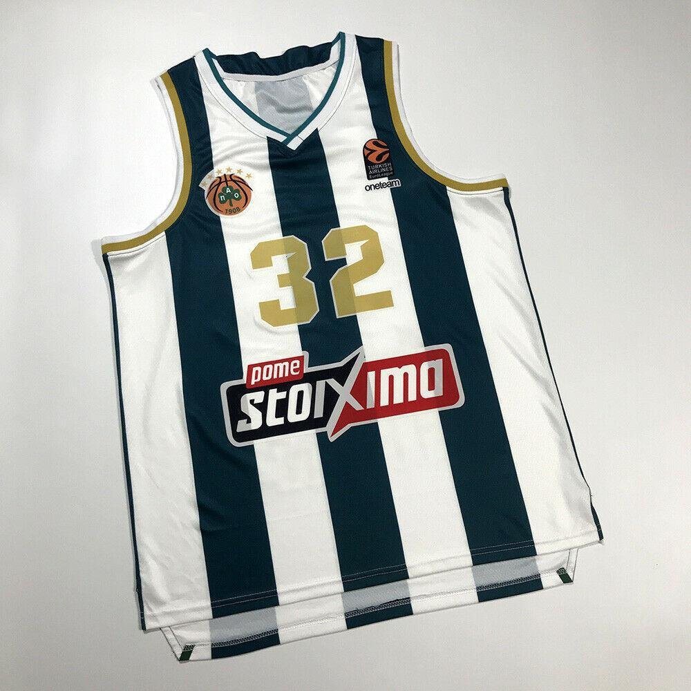 NCAA Jimmer Fredette # 32 Griechenland New Style Athens Panathiniikos Print Custom Jeder Name Nummer 4XL 5XL 6XL Jersey