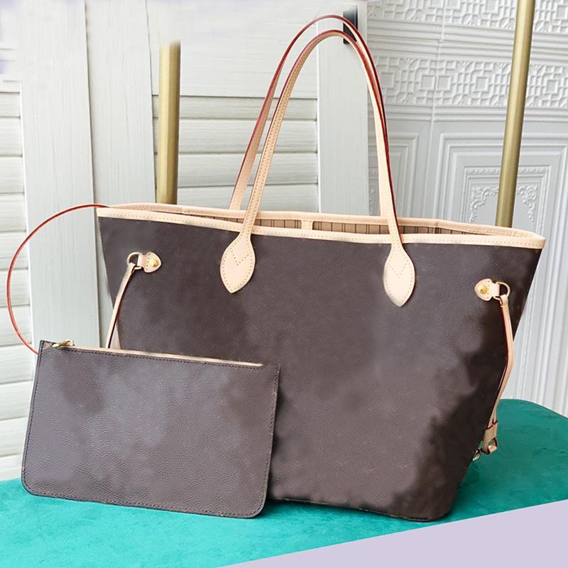 Bolsas de asas Mujeres Wallet de calidad de compra con bolsas de embrague desmontable Bolso de cuero de lienzo Madre Old Flower Paquete Hombro Hombre High Purso Ha Letu