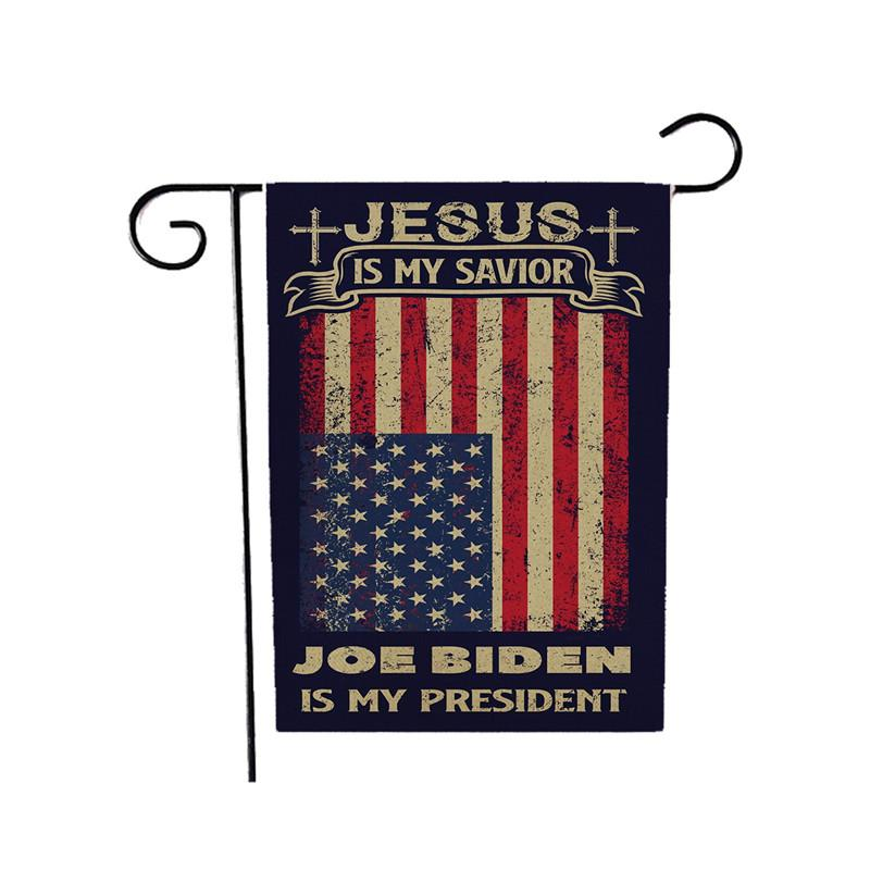 45 * 30 cm Joe Biden Flags Flax Stampato Bandiera Bandiera Banner Bandiera Durabile Mantieni l'America Grandi Articoli elettorali Forniture GGB2628