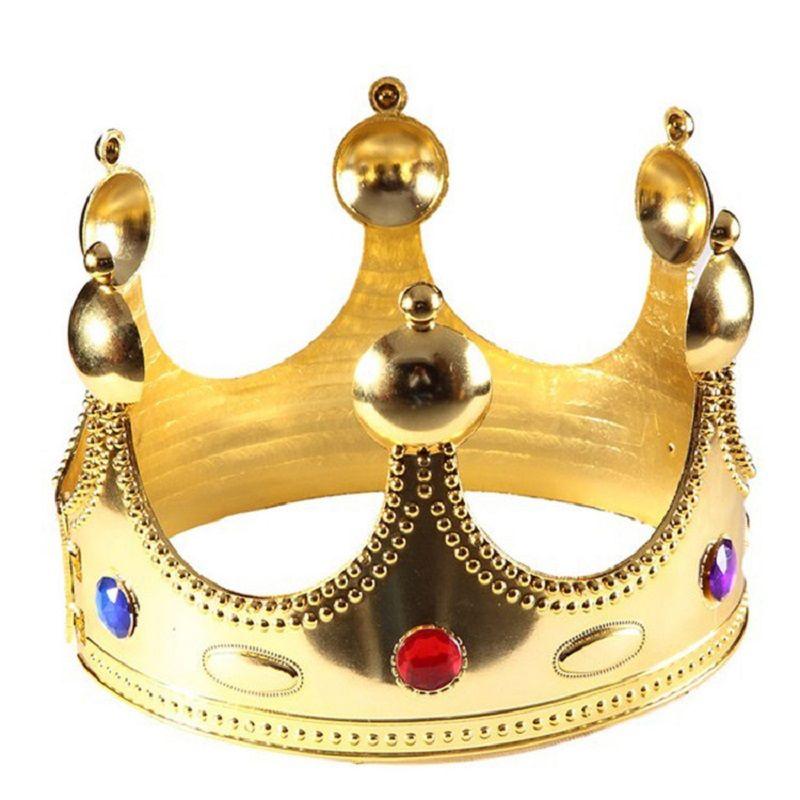 Crown Crown Crown Gold Couleur Cosplay Cosplay Holloween Caps Anniversaire Princess Party Cadeaux Chapeaux Hot Sale2 EEF3895