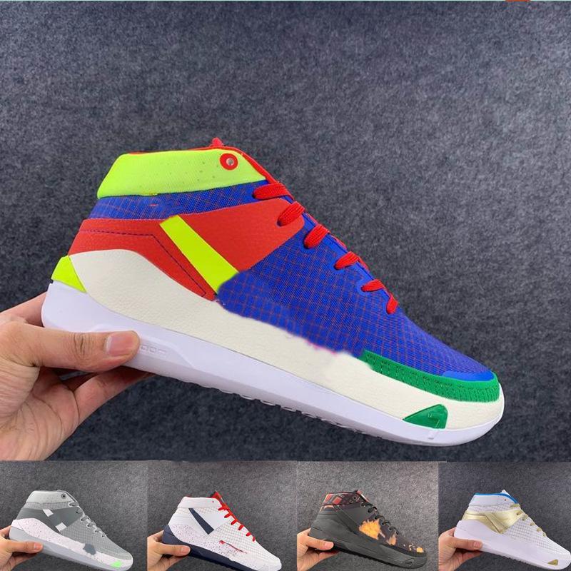 Zapatillas de baloncesto Superstar de alta calidad KD13 EP El planeta de aros para los zapatos de baloncesto de MANS Zapatillas al aire libre