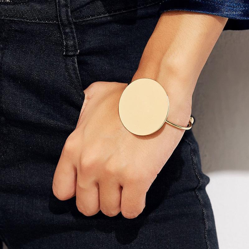 Bracelet à la mode ouverte brossée brossée bracelée bracelets bracelets pour femmes bracelets géométriques classiques bracelets1