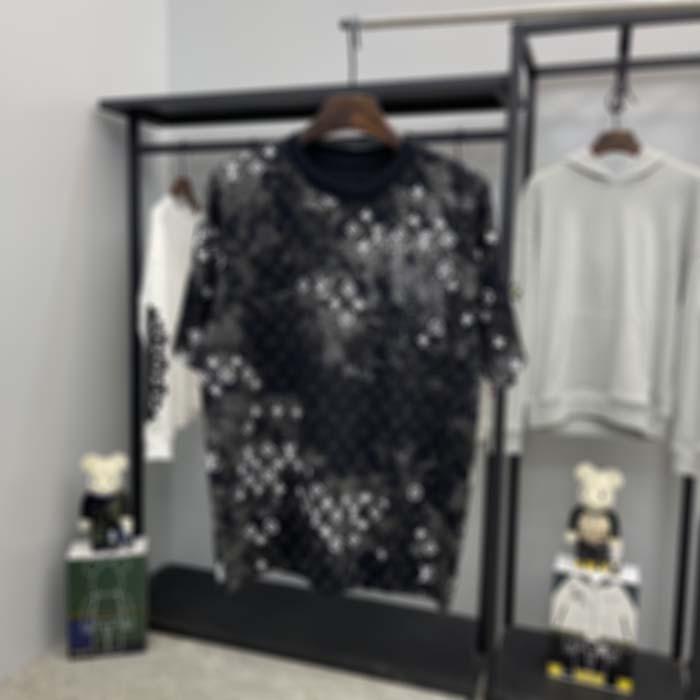 Francia última primavera verano París camuflaje carta impresión tee t shirt moda sudaderas con capucha hombres mujeres casual algodón camisetas