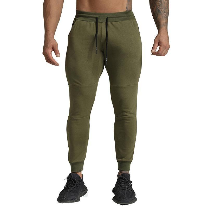 HaleyChan Men's Casual Pants Loose Running Training Pants Joggers Men Sweatpants Mens Clothes Men Tracksuit Sweat