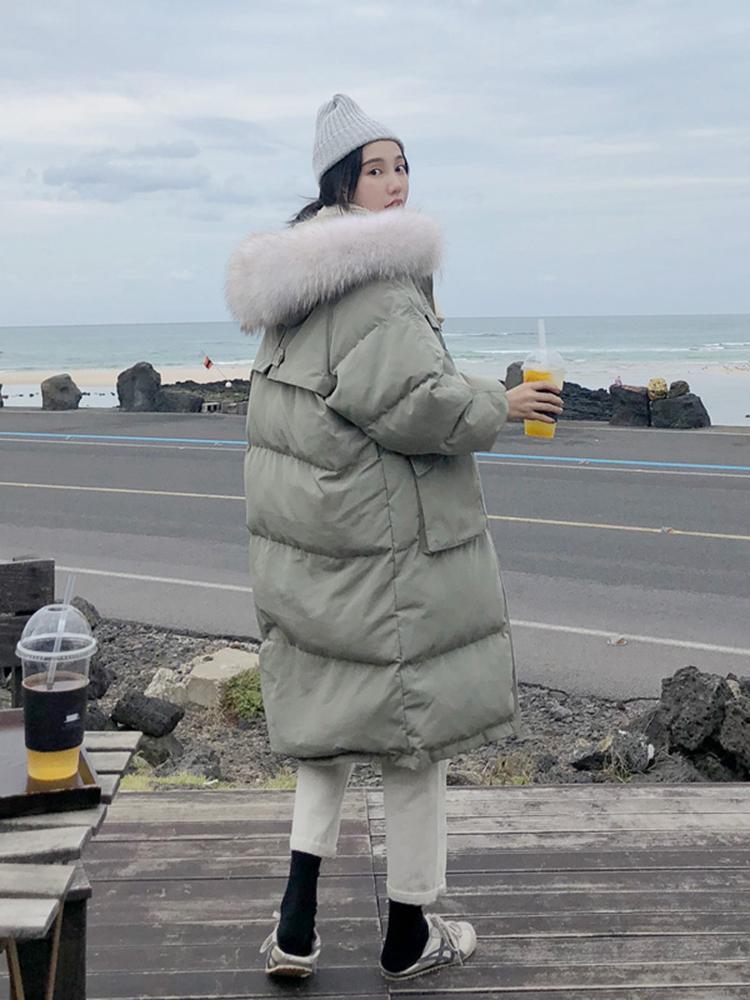 Mulheres Mulheres Jaqueta de Inverno Mulheres 2020 Longo Com Capuz Engrossado Quente Down Algodão Mulher Casaco Feminino Parka Vector Femme ZJT23