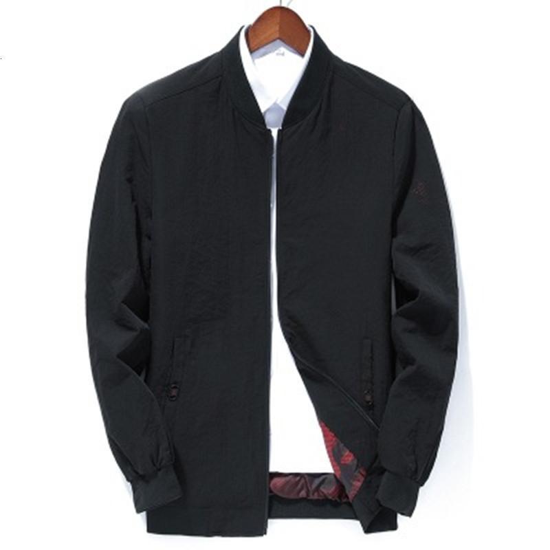2021 новый мужской пострадавший тонкий с стойкой воротничкой бизнес элегантная спортивная куртка M-3XL 7P8B
