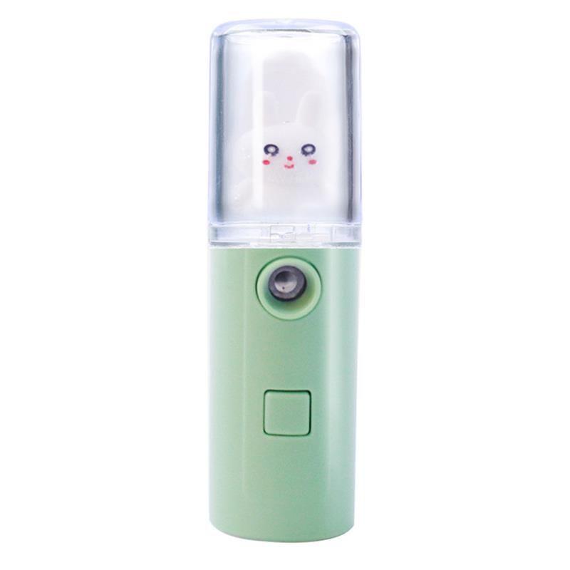 Мини портативная леди, увлажняющие лица для лица кролика декор водоснабжения инструмент ABS косметическое лицо паромное устройство девушки UBS новый шаблон 7 8CL G2