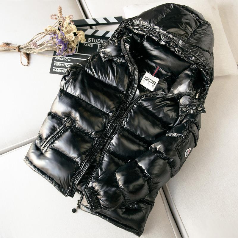 M Mengjia New Down Piumino da uomo Short Winter Inspoldotto Fashion Brand Brand Surface Cappotto Casual con polsini
