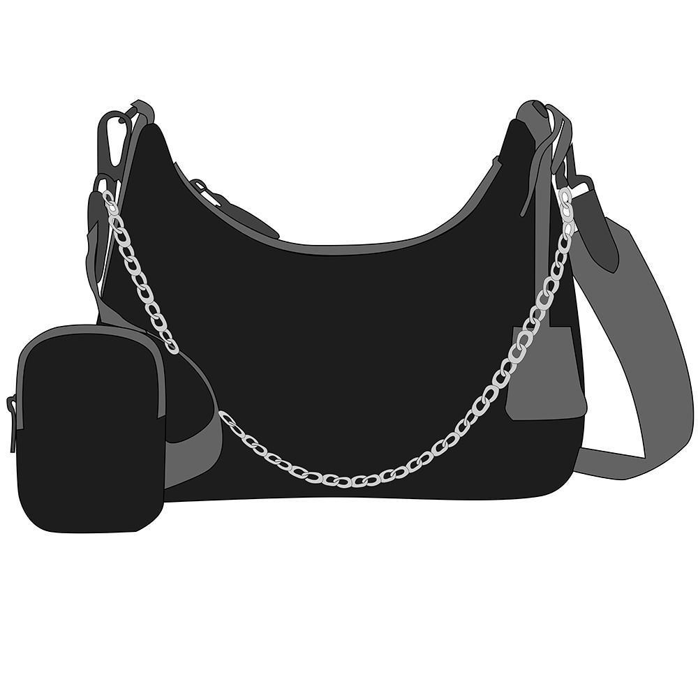 Moda Mujeres Mejores Ladies Bolsa de Hombro Satchel Tote Purse Messenger Crossbody Handbagt Wallet NUEVO Cartera clásica 23/17 / 6.5 cm