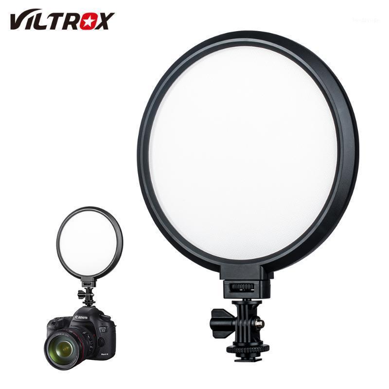 Viltrox VL-300T 18W LED Video Studio Lampada da studio Slim 3300K-5500K Kit dimmerabile per fotocamera foto tiro youtube video show live1