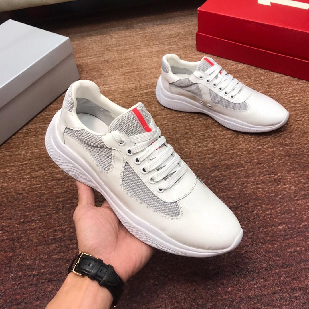 2021 جديد المصممين الرجال النساء أحذية رياضة أمريكا كأس تكنو strech منصة جلد حقيقي شملت dustbag زائد الحجم 46 أعلى جودة الأحذية