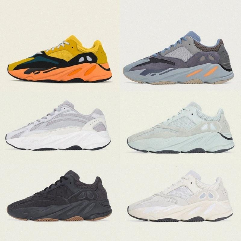[En stock] yeezy yeezys yezzy yzy boost 700 V3 Runner Mauve Kanye Nouveaux Couleurs Sun Blue Vague Vanta Vanta Safflower Chaussures Homme Femme Sports Designer Athletics Sneakers