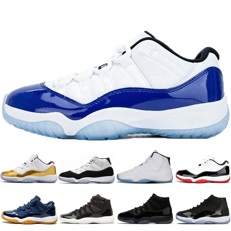 11s Men Classic Wowen Basket Pallacanes Shoes 11 Low WMNS Concord Cerimonia di chiusura a Bred Bred Concordia con numero 45 Scarpe sportive a infrarossi a infrarossi