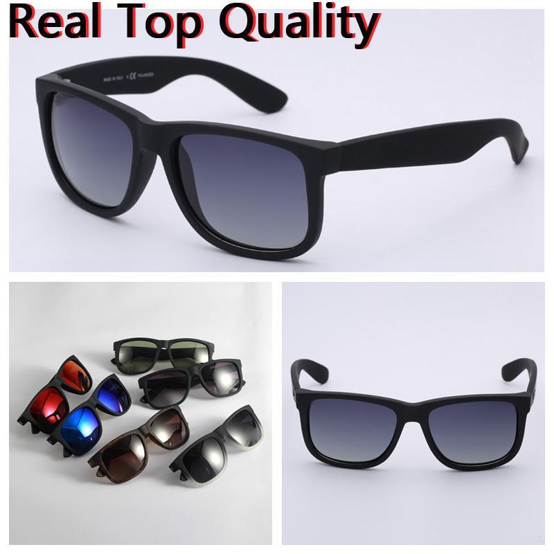 Designer Sonnenbrille Herren Sonnenbrillen Polarisierte Linsen Mode Sonnenbrille des Lunettes de Soleil mit Ledertuch und Einzelhandelspakete