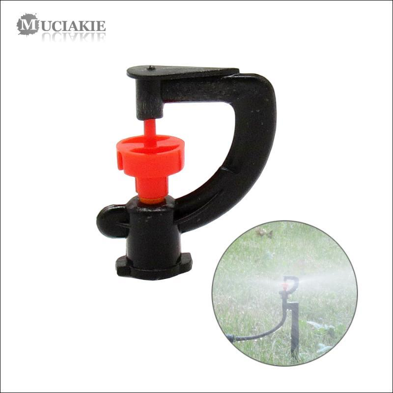 100PCS 360 Degrees Rotaty Sprinklers Automatic Irrigation Sprayer Micro Rotating Nozzle for Garden Irrigation Micorsprinklers