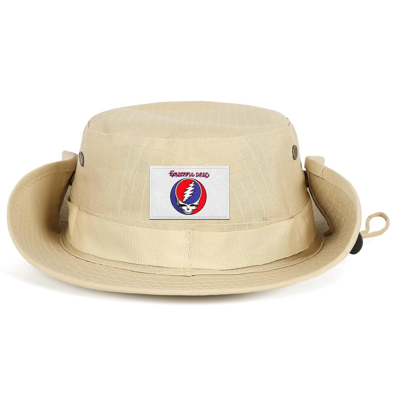 Grateful Dead Steal Your Face Live album Men Women Bucket Hat Summer Travel Visor Baseball Cap Outdoor Beach Fisherman Rose Logo