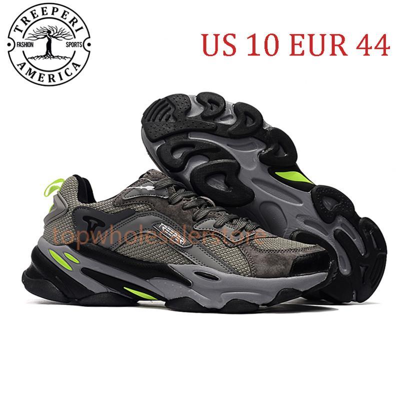 أفضل Terperi أزياء مكتنزة 700 لينة أحذية ركض الوحيد رمادي فولت الولايات المتحدة 10 يورو 44 للرجال المدربين