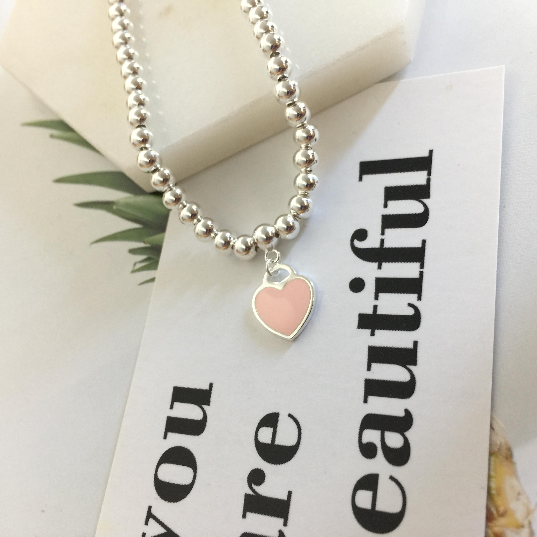 جودة عالية العلامة التجارية الاسترليني الفضة 925 ثانية كلاسيكي مصمم الأزياء والمجوهرات امرأة سوار الوردي القلب الذهبي لفائف الإسورة مفتاح سلسلة نصف مفتوحة