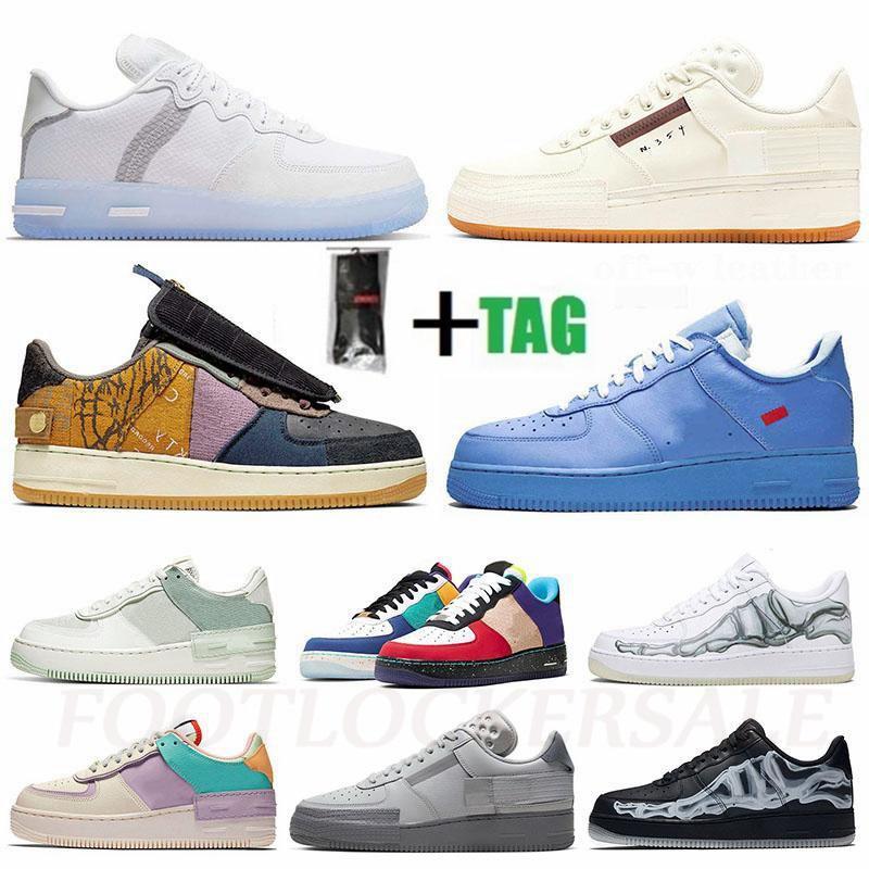 !Air! N354 Sail Gum Skate Sneakers React White Ice Cactus Jack MCA Shadow Basketball Trainers Type N.354 Forcee Mens Womens Running Shoes