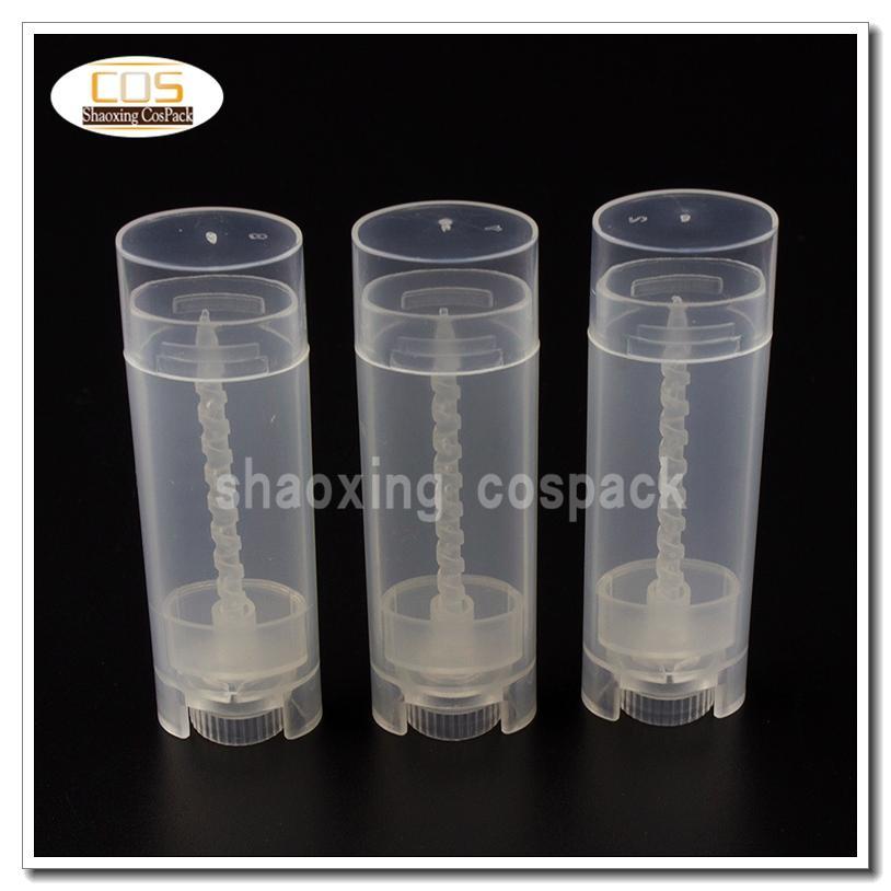 LB03-4.5G Boş Oval Şekil Chap Stick Tüpler, Toptan 4.5G Boş Chap Stick Konteynerler