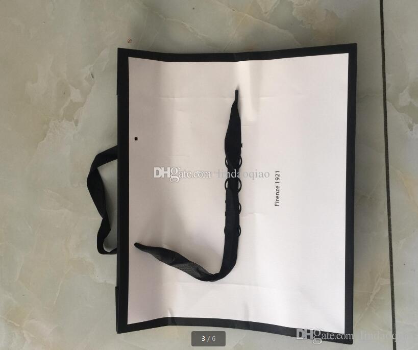 2018 Новый Дизайн Подарочная Сумка Приятные Дизайнерские Бумажные Сумки Известный Бренд Имя Подарочные Сумки Бумажный пакет